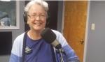Ellen Kolb in radio studio