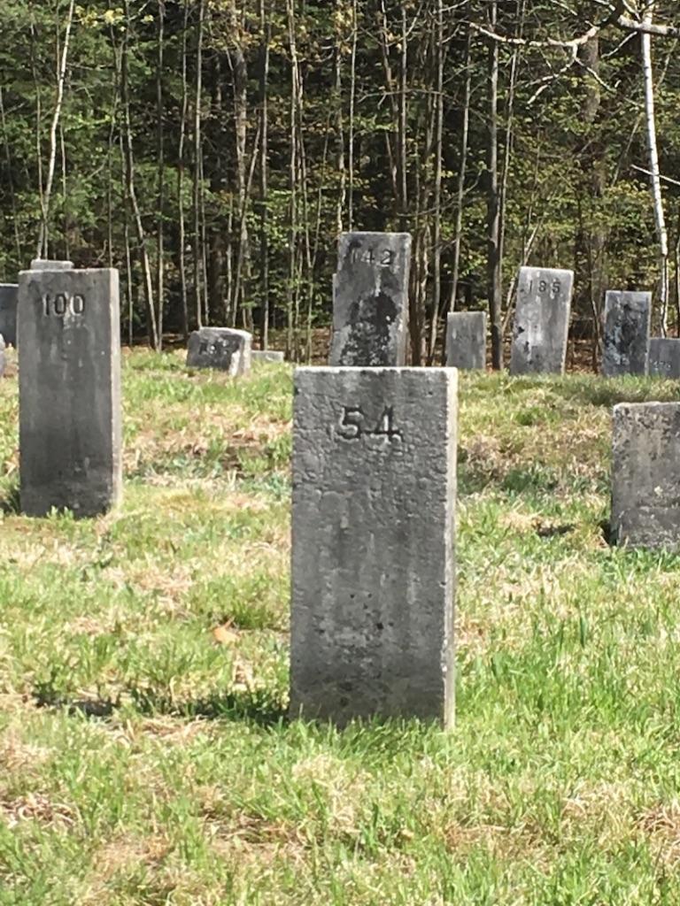 Hillsborough County Cemetery, Goffstown NH. Photo by Ellen Kolb.